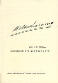 Wilhelmina Koningin der Nederlanden